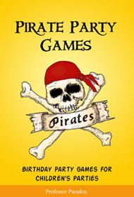 The Professor Paradox book of Pirate Party Games